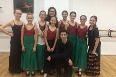 Alumnas con Angel Manarre